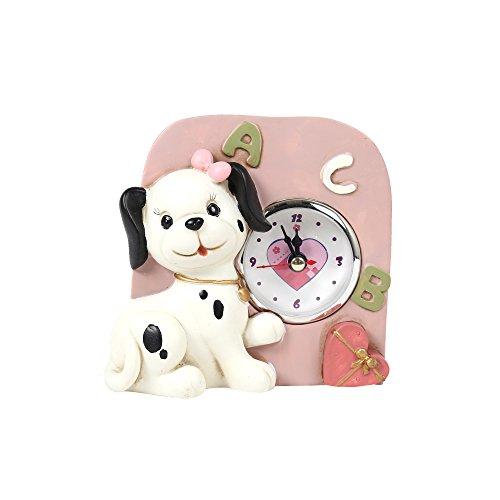 101 Dalmatian Costume Ideas (Truu Design 55562DC-PK Dalmatian Clock)
