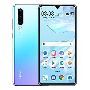 "Huawei P30 128GB+6GB RAM (ELE-L29) 6.1"" LTE Factory Unlocked GSM Smartphone (International Version) - Breathing Crystal Huawei"