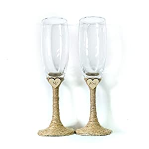 Amazon.com | Bride and Groom Glasses, Mr and Mrs Glasses