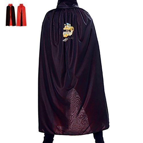 SeSHU Skull Forklift Reversible Halloween Ball Party Cosplay Magic Robe