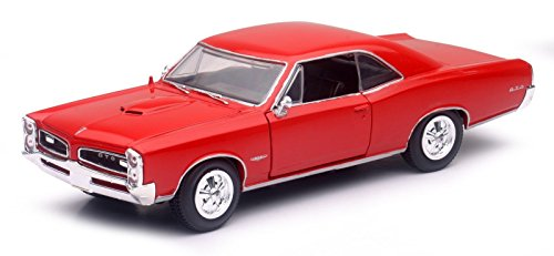 new-ray-1966-pontiac-gto-hard-top-1-24-diecast-car-red-new-71853a