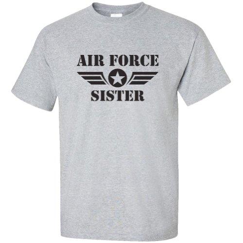 - Air Force Sister Short Sleeve T-Shirt in Sport Gray - Medium