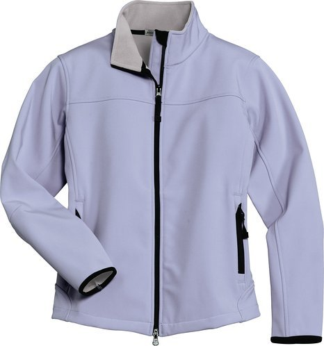 Port Authority L790 Ladies Glacier Soft Shell Jacket - Smoke Grey L790 XS (Glacier Soft Shell Jacket)