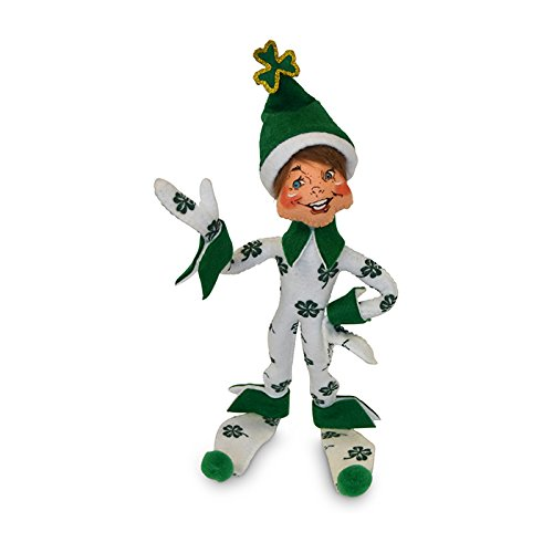 - Annalee - 9in Shamrock Elf