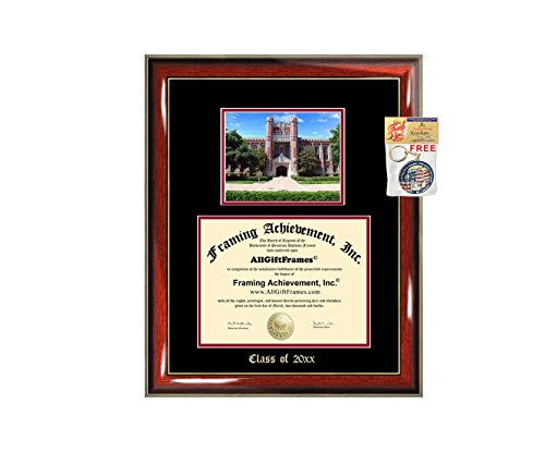 - Diploma Frame Big University of Oklahoma Graduation Gift Case OU Embossed Picture Frames Engraving Degree Graduate Bachelor Masters MBA PHD Doctorate School