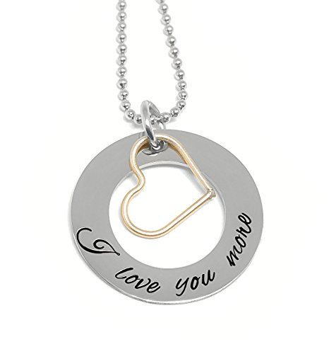 cklace - Gold Heart Charm - Anniversary Gifts ()