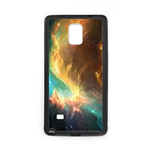 Samsung Galaxy Note 4 Cell Phone Case Black nebula Phone Case Cover DIY Unique XPDSUNTR30355