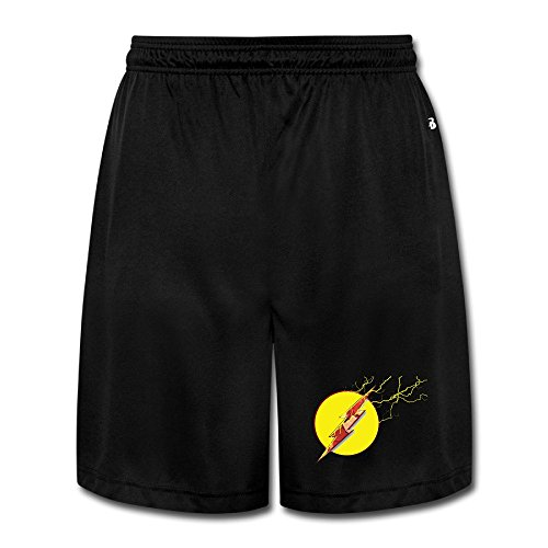 Professor Zoom Costume (Texhood MEN'S Professor Zoom Symbols Basketball Sport Shorts Size XL With Pocket Behind.)