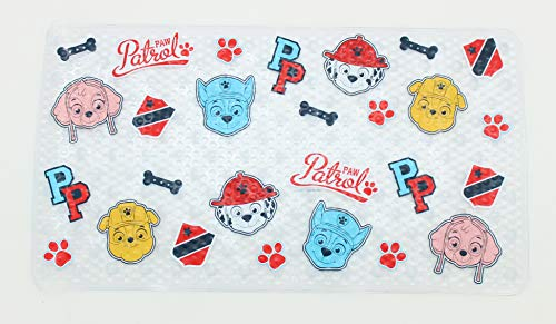 - Ginsey Paw Patrol Bath Tub Mat - Kids Bath Mat - Chase, Skye, Marshall and Rubble