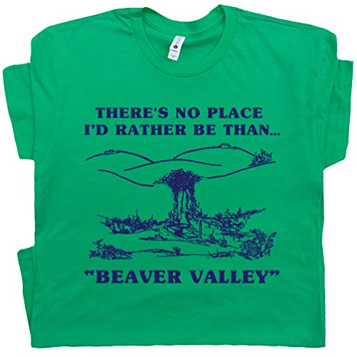 - XXL - Offensive T Shirt Funny Shirts Beaver Valley Rude Saying Tee Dirty Sexual Slogan Retro Novelty Adult Humor Blue