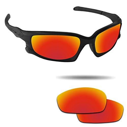 Fiskr Anti-saltwater Polarized Replacement Lenses for Oakley Split Jacket - Oakley Lenses Jacket Split Polarized