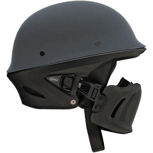 Bell Rogue Open Face Harley Cruiser Motorcycle Helmet - Matte Gunmetal / X-Large