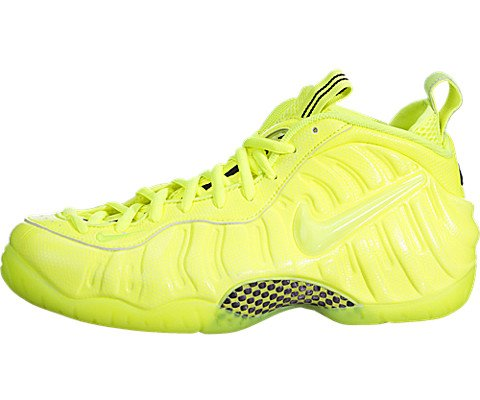 best website 81198 191c5 Nike Men's Air Foamposite Pro Volt/Volt/Black Basketball Shoe 11.5 Men US