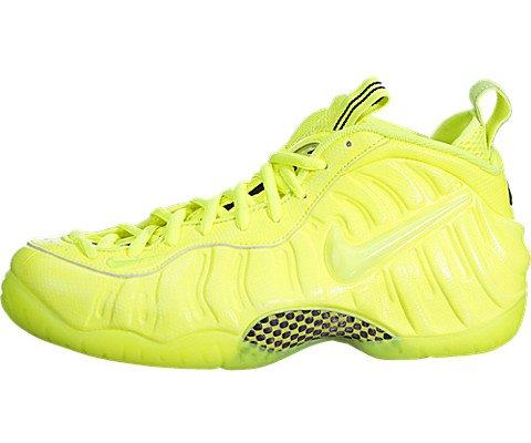 best website 98e08 f2157 Nike Men's Air Foamposite Pro Volt/Volt/Black Basketball Shoe 11.5 Men US