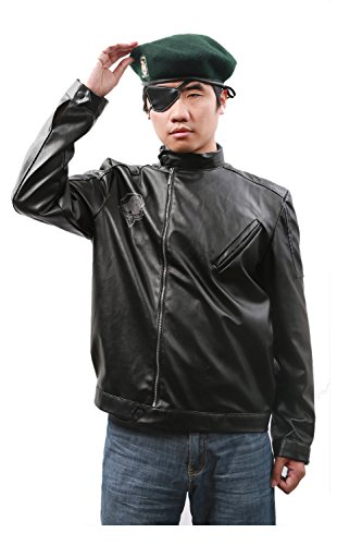 Metal Ggear Solid Cosplay Costume Snake Jacket for Adult]()