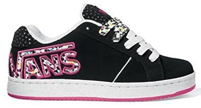 premier coup d'oeil haute couture où puis je acheter Vans Widow, Chaussures spécial skateboard pour femme Noir ...