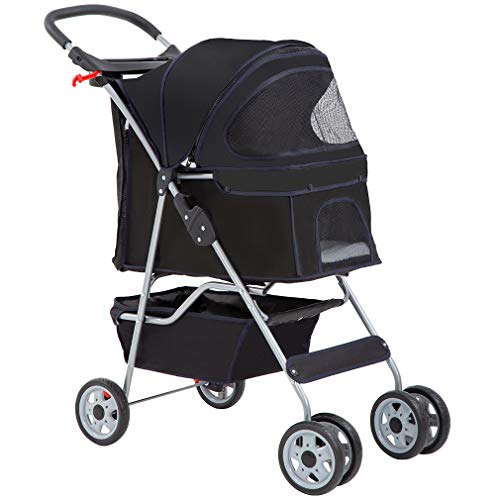 BestPet Pet Stroller Cat