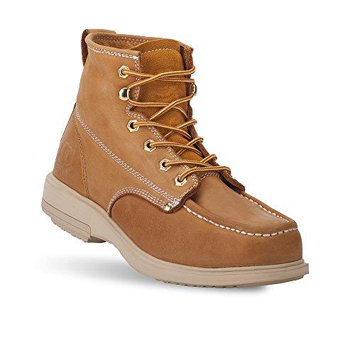 Zwaartekracht Defyer Heren Kingston Boots - Stalen Veiligheidsneus, Lichtgewicht Epr Zoolbruin