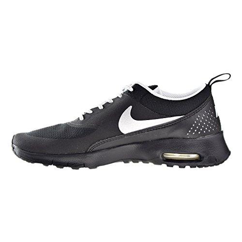 Schwarz Platinum Pour Fille Platinum black Nike De Air Max metallic Thea Chaussures Sport gs pure 00z7TSwqx