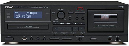 AD 800 Player Cassette Codec Black