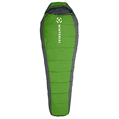 Winterial 15 - 50 degree Mummy Sleeping Bag Adult Size / Camping / Backpacking / Hiking