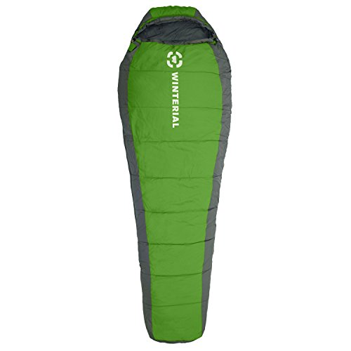 Winterial 15 – 50 degree Mummy Sleeping Bag Adult Size / Camping / Backpacking / Hiking