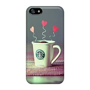 Fashion YEm3445KtjV Case Cover For Iphone 5/5s(starbucks Creative Beauty Hd)