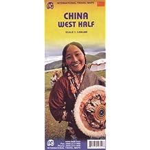 China West Half 1:3,000,000 Travel Map *** (International Travel Maps)