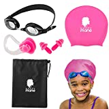 Happy Mane Complete Set Swim Cap for Braids and