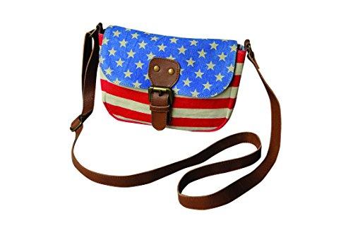 Pine Creek 12″x12″ American Cross Body Bag, 12″ x 12″ Review
