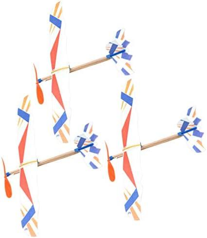NUOBESTY 3 Stks Vliegtuig Zweefvliegtuigen Speelgoed Vliegtuig Gemaakt Vliegende Speelgoed Vliegtuig Feestartikelen Voor Kinderen Jongen Verjaardag Willekeurig Patroon