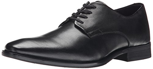 Calvin Klein Men's Ramses Tuxedo Oxford, Black Leather, 9 M US