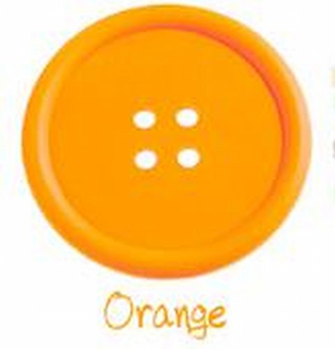 roseamor-round-button-shaped-non-slip-insulated-silicone-cup-mats-coasters-holders-pack-of-2-orange