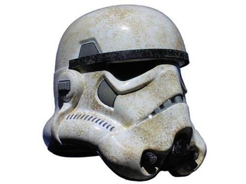 Amazon.com: Star Wars Soldado de las Arenas Casco precisión ...