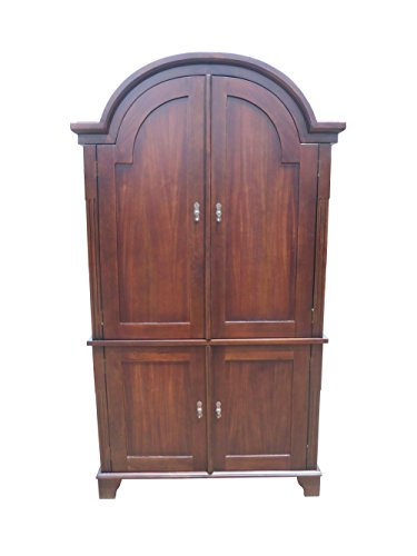D-ART COLLECTION Bonnet Top Armoire by D-Art Collection