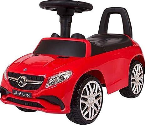 Mercedes Rutschauto Benz GLE63 Coupe Rutscher Kinderauto Rutschfahrzeug Lauflernwagen Laufwagen (rot) RSMAX.EU