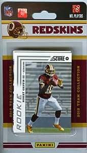 2012 Score NFL Football Washington Redskins Factory Sealed 12 Card Team Set