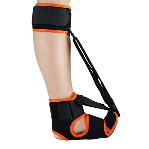 Plantar Fasciitis Night Splint - Breathable, Comfy Plantar Fasciitis Support w/Advanced Stretching Mechanism - Orthotics Support for Achilles Tendonitis, Drop Foot & Pain (Men-11-11.5,Women-12.5-13.5)