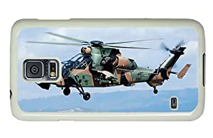 Diy Samsung i9600 cover brand new Camouflage helicopter PC White for Samsung S5,Samsung Galaxy S5,Samsung i9600