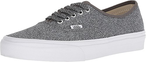 - Vans Authentic (Lurex Glitter) Black/True White VN0A38EMU3T Mens 3.5, Womens 5