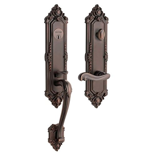 Baldwin Hardware 6426.112.LENT Kensington set Front Door Handle