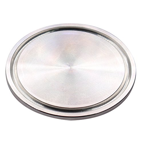 Dernord Sanitary End Cap fits Tri-Clamp Ferrule Flange Stainless Steel 304 Fitting Clamp (2