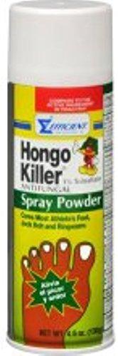 - Hongo Killer Antifungal Spray Powder 4.60 oz (Pack of 3)