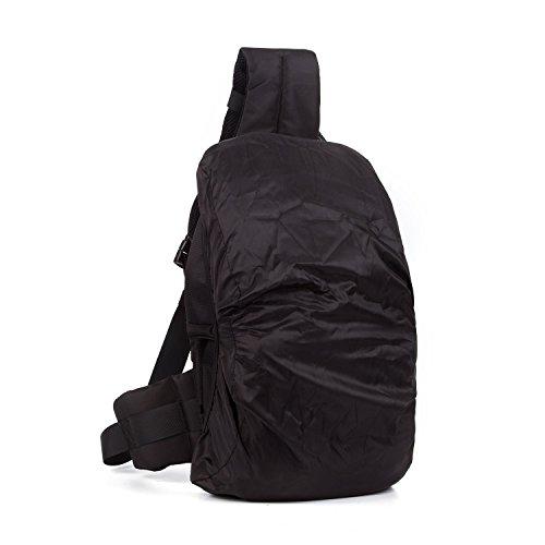 Amazon.com: Professional DSLR SLR Sling Camera Bags Travel Outdoor ...