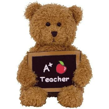 Ty Cool Teacher - A+ Teacher Bear