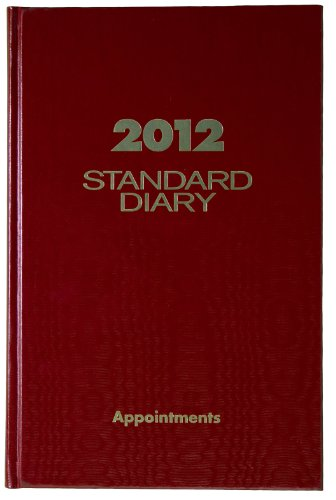 AT-A-GLANCE Standard Diary, Recycled Daily Appointment Book, 5 x 8 Inches, Red, 2012 (SD907-13) by At-A-Glance