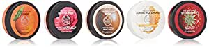 The Body Shop Body Butters Spinner Gift Set, 5pc Set of Travel Size Assorted Body Butters