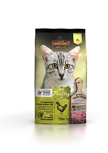 Leonardo Adult GF Poultry Katzenfutter | Getreidefreies Trockenfutter für Katzen | Alleinfuttermittel für Katzenrassen…