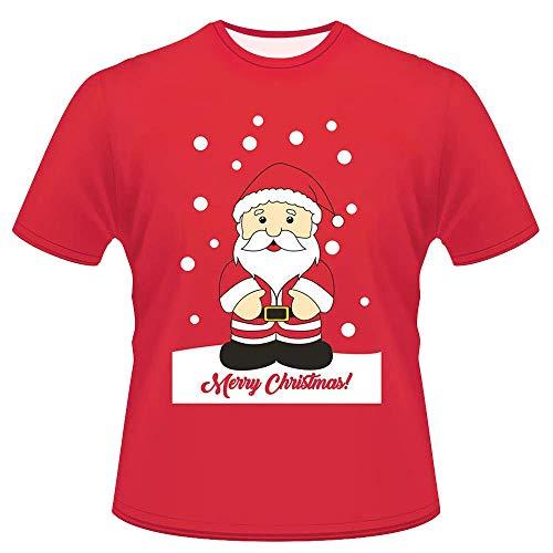 Mens T-Shirt,Ronamick Unisex Summer Printing O-Neck Casual Tees Shirt Short Sleeve Top Blouse