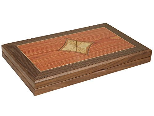 Wood Backgammon Set - 9
